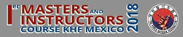 logo Primer Masters and Instructors Couse KHF Mexico 2018